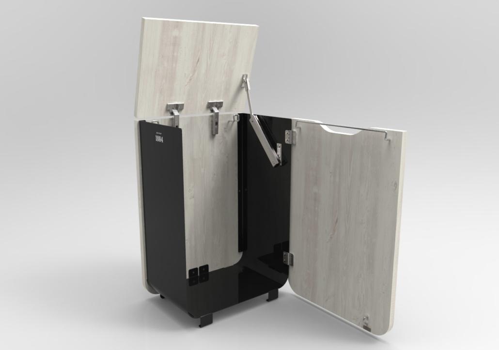 Design industriel cao 3d mobilier