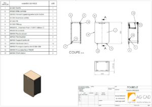 Design industriel cao 3d mobilier cuisine