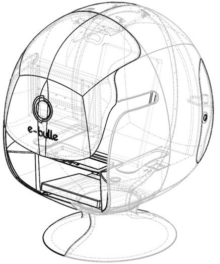 E-BULLE / Le poste de travail connecté et immersif pour les espaces partagés