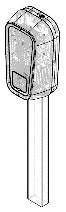 Design industriel borne de recharge véhicule électrique