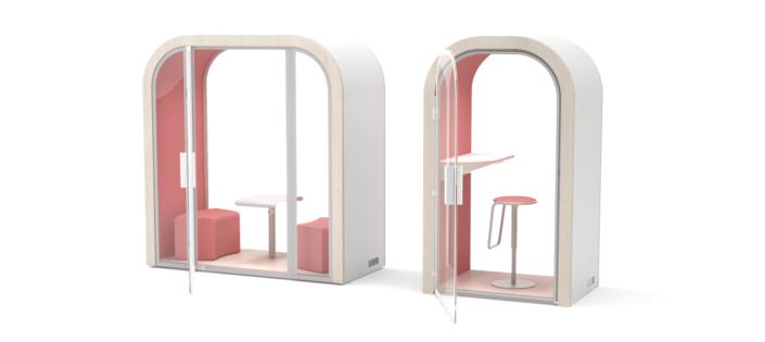 LES ARCHES / Cabines acoustiques pour open-space