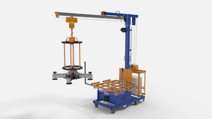 CARLITA / Machine d'aide à la pose de carrelage